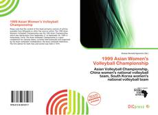Capa do livro de 1999 Asian Women's Volleyball Championship