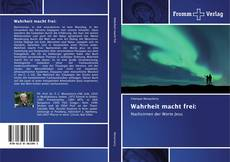 Portada del libro de Wahrheit macht frei: