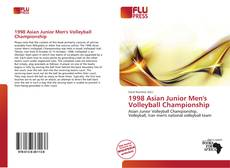 Bookcover of 1998 Asian Junior Men's Volleyball Championship