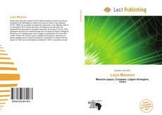 Portada del libro de Loys Masson