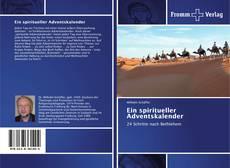 Portada del libro de Ein spiritueller Adventskalender