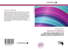 Portada del libro de Antonio Calderón
