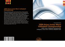 Bookcover of 2000 Asian Junior Men's Volleyball Championship