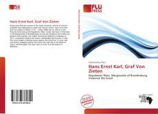 Bookcover of Hans Ernst Karl, Graf Von Zieten