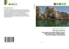 Обложка Burgersdorp