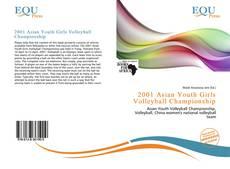 Capa do livro de 2001 Asian Youth Girls Volleyball Championship