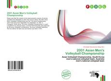 Bookcover of 2001 Asian Men's Volleyball Championship