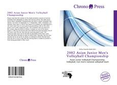 Capa do livro de 2002 Asian Junior Men's Volleyball Championship