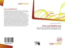 Bookcover of Fish and Wildlife Act