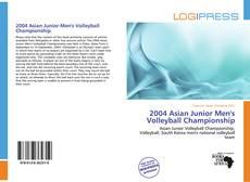 Capa do livro de 2004 Asian Junior Men's Volleyball Championship