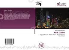 Portada del libro de Kom Ombo