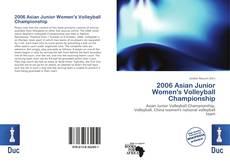 Capa do livro de 2006 Asian Junior Women's Volleyball Championship