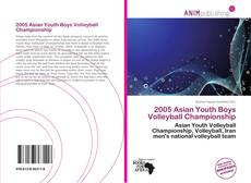 Capa do livro de 2005 Asian Youth Boys Volleyball Championship