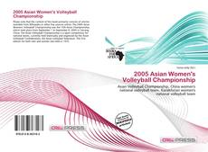 Bookcover of 2005 Asian Women's Volleyball Championship