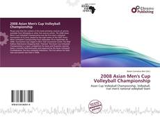 Capa do livro de 2008 Asian Men's Cup Volleyball Championship