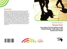 Bookcover of Howie Carr