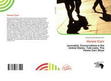 Buchcover von Howie Carr