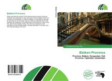 Bookcover of Batken Province