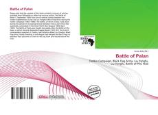 Bookcover of Battle of Palan