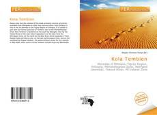 Bookcover of Kola Tembien