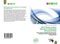 Bookcover of 2010 Asian Junior Women's Volleyball Championship
