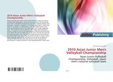 Capa do livro de 2010 Asian Junior Men's Volleyball Championship
