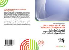 Couverture de 2010 Asian Men's Cup Volleyball Championship