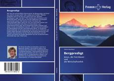 Bookcover of Bergpredigt