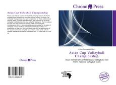 Couverture de Asian Cup Volleyball Championship