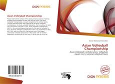 Couverture de Asian Volleyball Championship