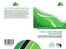Couverture de Asian Junior Volleyball Championship
