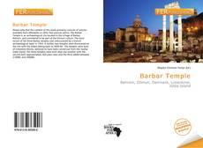 Copertina di Barbar Temple