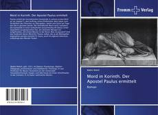 Bookcover of Mord in Korinth. Der Apostel Paulus ermittelt