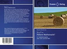 Portada del libro de 3 x 7 = Höhere Mathematik?