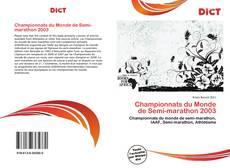 Championnats du Monde de Semi-marathon 2003 kitap kapağı