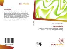 Buchcover von Jaime Ruiz