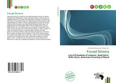Bookcover of Fouad Siniora