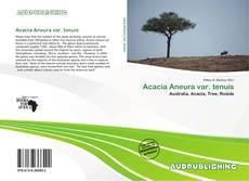 Bookcover of Acacia Aneura var. tenuis