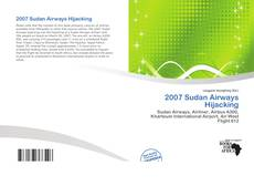 2007 Sudan Airways Hijacking kitap kapağı