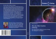 Bookcover of Als das Wort Gottes erklang