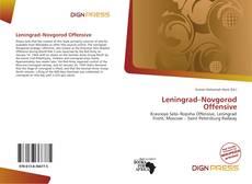 Leningrad–Novgorod Offensive kitap kapağı
