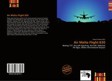 Air Malta Flight 830 kitap kapağı