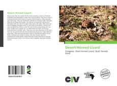 Bookcover of Desert Horned Lizard