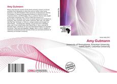 Bookcover of Amy Gutmann