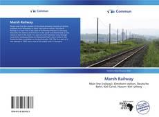 Buchcover von Marsh Railway