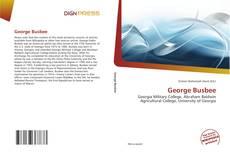 Couverture de George Busbee