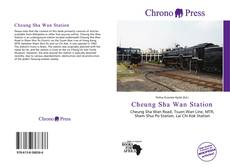 Bookcover of Cheung Sha Wan Station