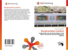 Bookcover of Bergkrystallen (station)