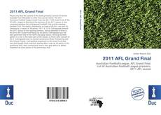 Couverture de 2011 AFL Grand Final