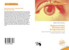 Capa do livro de Autonomists Democrats Progressives
